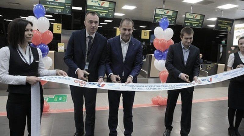 Из Казани вылетел первый в истории Татарстана трансатлантический рейс